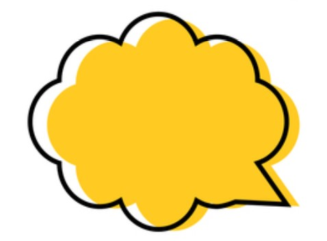 yellow-speech-bubble